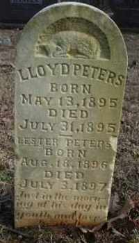 PETERS, LESTER - Crawford County, Arkansas | LESTER PETERS - Arkansas Gravestone Photos