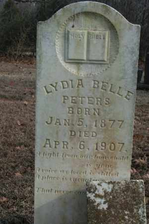 PETERS, LYDIA - Crawford County, Arkansas | LYDIA PETERS - Arkansas Gravestone Photos