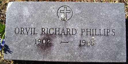 PHILLIPS, ORVIL RICHARD - Crawford County, Arkansas | ORVIL RICHARD PHILLIPS - Arkansas Gravestone Photos