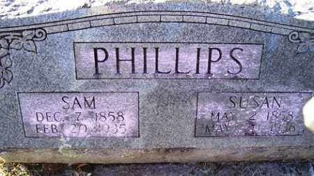 BROWN PHILLIPS, SUSAN - Crawford County, Arkansas | SUSAN BROWN PHILLIPS - Arkansas Gravestone Photos