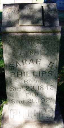 BUNCH PHILLIPS, SARAH ELIZABETH - Crawford County, Arkansas | SARAH ELIZABETH BUNCH PHILLIPS - Arkansas Gravestone Photos