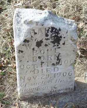 POPE, CHARLEY - Crawford County, Arkansas   CHARLEY POPE - Arkansas Gravestone Photos