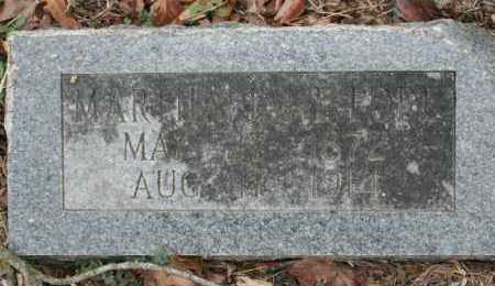 POPE, MARTHA - Crawford County, Arkansas | MARTHA POPE - Arkansas Gravestone Photos
