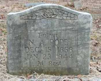 POPE, N.A. - Crawford County, Arkansas | N.A. POPE - Arkansas Gravestone Photos