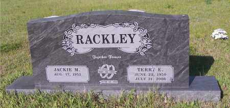 RACKLEY, TERRY E - Crawford County, Arkansas | TERRY E RACKLEY - Arkansas Gravestone Photos
