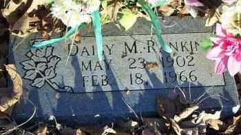 RANKIN, DAISY M. - Crawford County, Arkansas | DAISY M. RANKIN - Arkansas Gravestone Photos