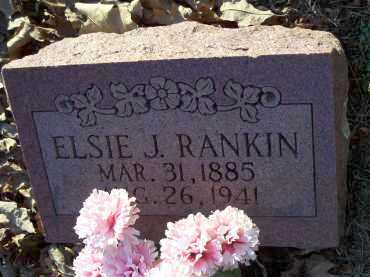 RANKIN, ELSIE J. - Crawford County, Arkansas | ELSIE J. RANKIN - Arkansas Gravestone Photos