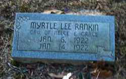 RANKIN, MYRTLE LEE - Crawford County, Arkansas | MYRTLE LEE RANKIN - Arkansas Gravestone Photos