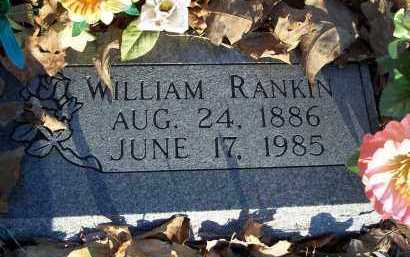 RANKIN, WILLIAM - Crawford County, Arkansas | WILLIAM RANKIN - Arkansas Gravestone Photos