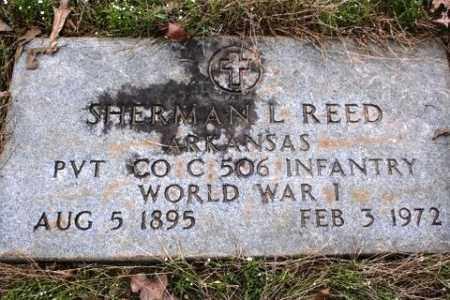 REED (VETERAN WWI), SHERMAN L - Crawford County, Arkansas | SHERMAN L REED (VETERAN WWI) - Arkansas Gravestone Photos