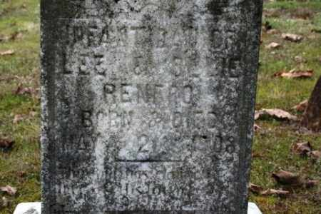 RENFRO, INFANT DAUGHTER - Crawford County, Arkansas | INFANT DAUGHTER RENFRO - Arkansas Gravestone Photos