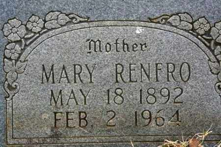 RENFRO, MARY - Crawford County, Arkansas | MARY RENFRO - Arkansas Gravestone Photos