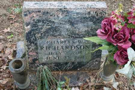 RICHARDSON, CHARLES - Crawford County, Arkansas | CHARLES RICHARDSON - Arkansas Gravestone Photos