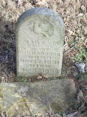RICHARDSON, MARY M. - Crawford County, Arkansas | MARY M. RICHARDSON - Arkansas Gravestone Photos