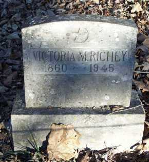 RICHEY, VICTORIA M. - Crawford County, Arkansas | VICTORIA M. RICHEY - Arkansas Gravestone Photos