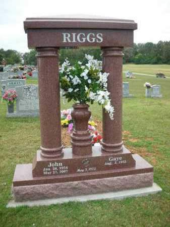 RIGGS, JOHN - Crawford County, Arkansas | JOHN RIGGS - Arkansas Gravestone Photos