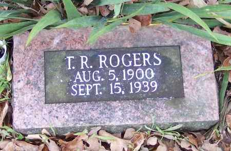 ROGERS, T R - Crawford County, Arkansas | T R ROGERS - Arkansas Gravestone Photos