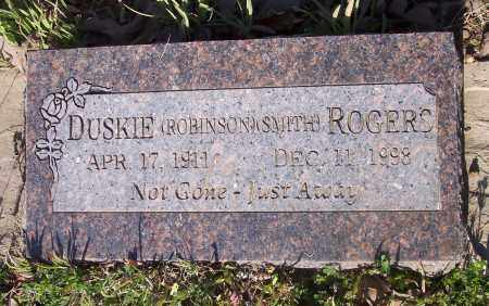 ROGERS, DUSKIE - Crawford County, Arkansas | DUSKIE ROGERS - Arkansas Gravestone Photos