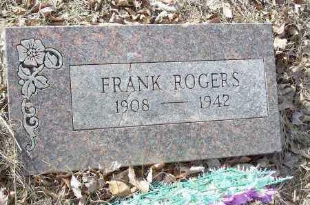 ROGERS, FRANK - Crawford County, Arkansas | FRANK ROGERS - Arkansas Gravestone Photos