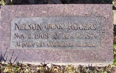 ROGERS, NELSON BUNK - Crawford County, Arkansas | NELSON BUNK ROGERS - Arkansas Gravestone Photos