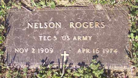 ROGERS (VETERAN), NELSON - Crawford County, Arkansas | NELSON ROGERS (VETERAN) - Arkansas Gravestone Photos