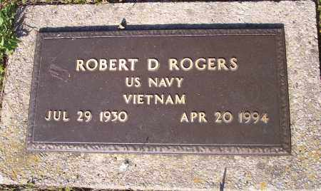 ROGERS (VETERAN VIET), ROBERT D - Crawford County, Arkansas | ROBERT D ROGERS (VETERAN VIET) - Arkansas Gravestone Photos