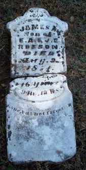 ROSSON, JAMES A - Crawford County, Arkansas | JAMES A ROSSON - Arkansas Gravestone Photos