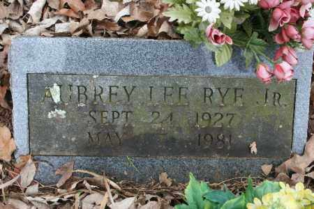RYE, JR, AUBREY LEE - Crawford County, Arkansas | AUBREY LEE RYE, JR - Arkansas Gravestone Photos