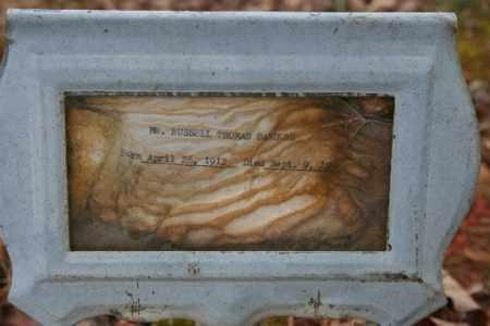SANDERS, RUSSELL - Crawford County, Arkansas | RUSSELL SANDERS - Arkansas Gravestone Photos
