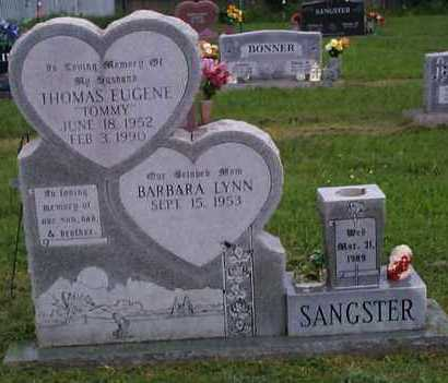 """SANGSTER, THOMAS EUGENE """"TOMMY"""" - Crawford County, Arkansas   THOMAS EUGENE """"TOMMY"""" SANGSTER - Arkansas Gravestone Photos"""