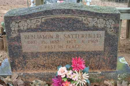 SATTERFIELD, BENJAMIN R - Crawford County, Arkansas | BENJAMIN R SATTERFIELD - Arkansas Gravestone Photos