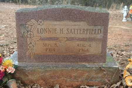 SATTERFIELD, LONNIE H - Crawford County, Arkansas | LONNIE H SATTERFIELD - Arkansas Gravestone Photos