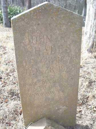 SHADES, JOHN R. - Crawford County, Arkansas | JOHN R. SHADES - Arkansas Gravestone Photos