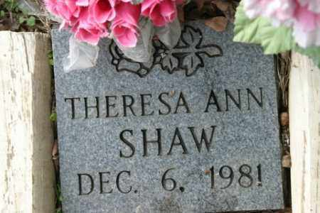 SHAW, THERESA ANN - Crawford County, Arkansas | THERESA ANN SHAW - Arkansas Gravestone Photos