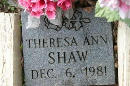 SHAW, THERESA ANN - Crawford County, Arkansas   THERESA ANN SHAW - Arkansas Gravestone Photos