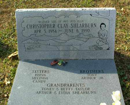 SHEARBURN, CHRISTOPHER CLAY - Crawford County, Arkansas | CHRISTOPHER CLAY SHEARBURN - Arkansas Gravestone Photos