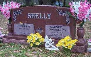 SHELLY, GARNET J - Crawford County, Arkansas | GARNET J SHELLY - Arkansas Gravestone Photos