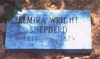 WRIGHT SHEPHERD, ELMIRA - Crawford County, Arkansas | ELMIRA WRIGHT SHEPHERD - Arkansas Gravestone Photos