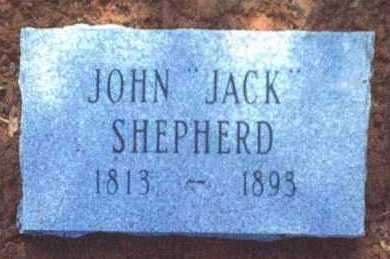 "SHEPHERD, JOHN ""JACK"" - Crawford County, Arkansas | JOHN ""JACK"" SHEPHERD - Arkansas Gravestone Photos"