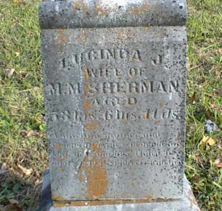 SHERMAN, LUCINDA J - Crawford County, Arkansas | LUCINDA J SHERMAN - Arkansas Gravestone Photos