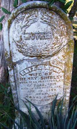 SHIBLEY, ELIZA ANN MINERVA - Crawford County, Arkansas | ELIZA ANN MINERVA SHIBLEY - Arkansas Gravestone Photos