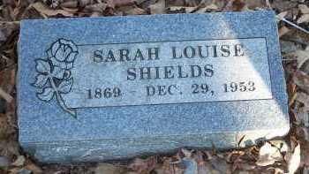 SHIELDS, SARAH LOUISE - Crawford County, Arkansas | SARAH LOUISE SHIELDS - Arkansas Gravestone Photos