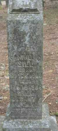 SILL  (VETERAN UNION), SAMUEL C. - Crawford County, Arkansas | SAMUEL C. SILL  (VETERAN UNION) - Arkansas Gravestone Photos