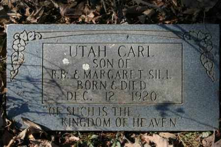 SILL, UTAH CARL - Crawford County, Arkansas | UTAH CARL SILL - Arkansas Gravestone Photos