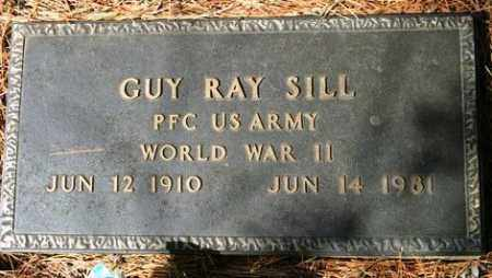 SILL (VETERAN WWII), GUY RAY - Crawford County, Arkansas | GUY RAY SILL (VETERAN WWII) - Arkansas Gravestone Photos