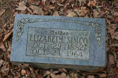 SIMCO, ELIZABETH - Crawford County, Arkansas | ELIZABETH SIMCO - Arkansas Gravestone Photos