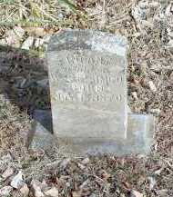 SIMCO, INFANT - Crawford County, Arkansas | INFANT SIMCO - Arkansas Gravestone Photos