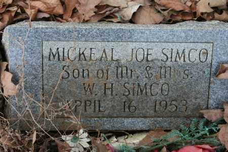 SIMCO, MICKEAL - Crawford County, Arkansas | MICKEAL SIMCO - Arkansas Gravestone Photos