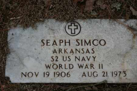 SIMCO (VETERAN WWII), SEAPH - Crawford County, Arkansas | SEAPH SIMCO (VETERAN WWII) - Arkansas Gravestone Photos