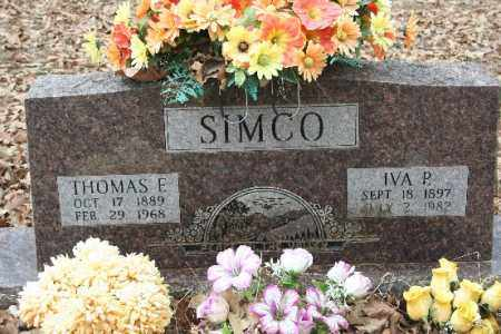 SIMCO, THOMAS E - Crawford County, Arkansas | THOMAS E SIMCO - Arkansas Gravestone Photos